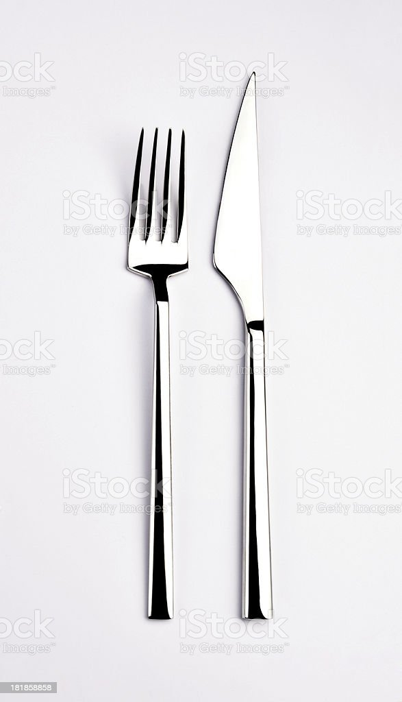 Fork And Knife (Click for more) royalty-free stock photo