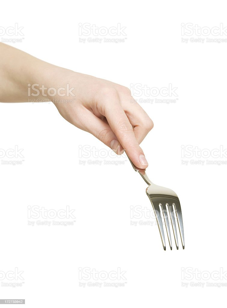 Fork it! royalty-free stock photo