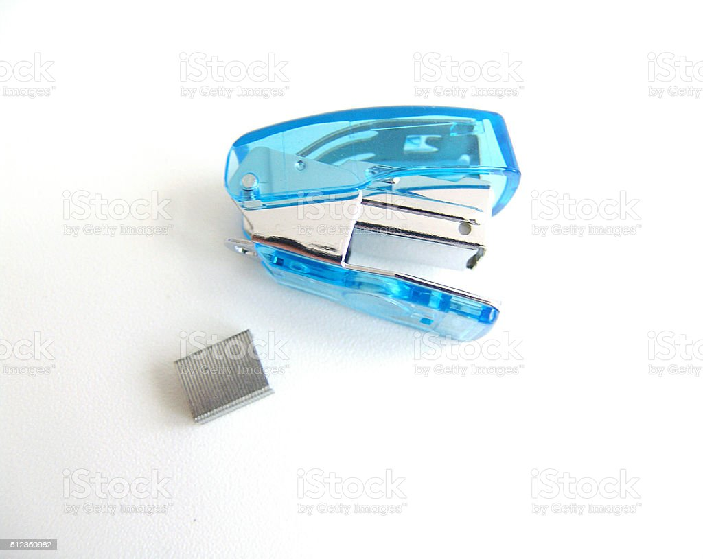Stapler stock photo