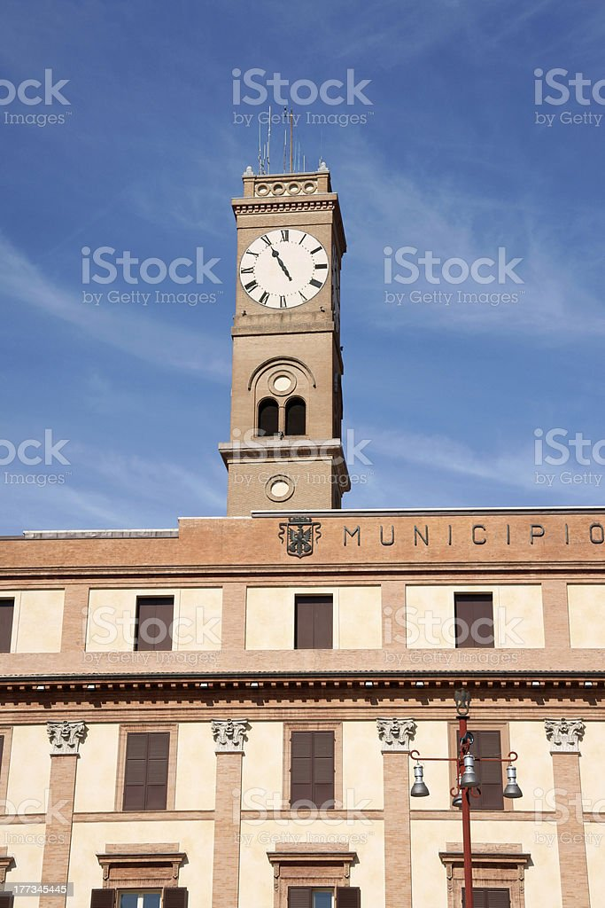 ForlA town hall stock photo