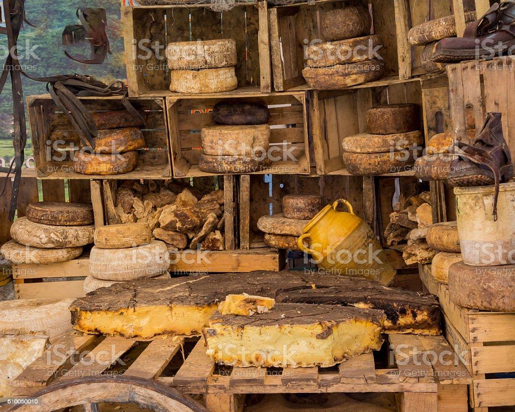 Formaggi di Baita stock photo