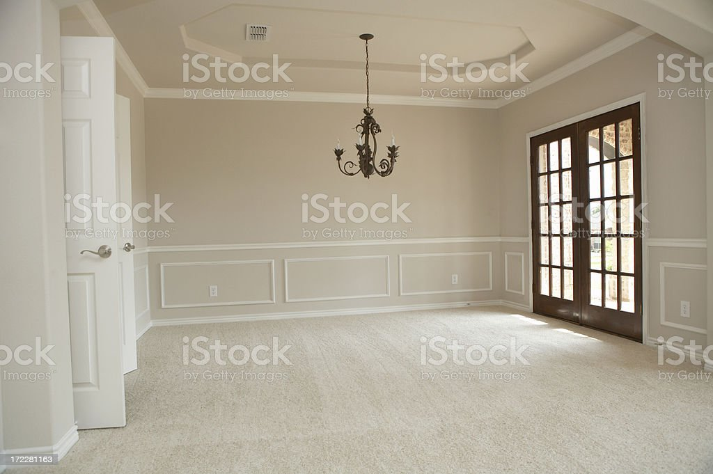 Formal dining stock photo