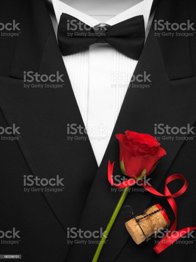 Formal Dinner Jacket stock photo