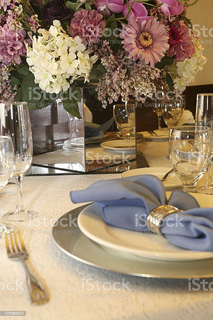 formal dinner royalty-free stock photo