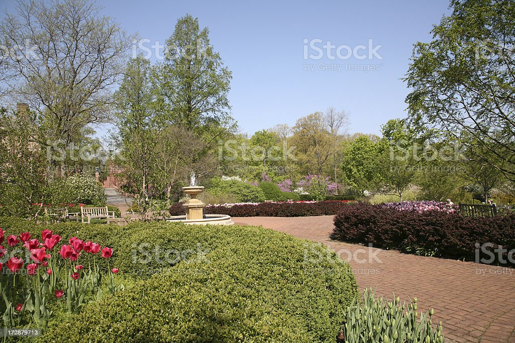 Formal Garden royalty-free stock photo