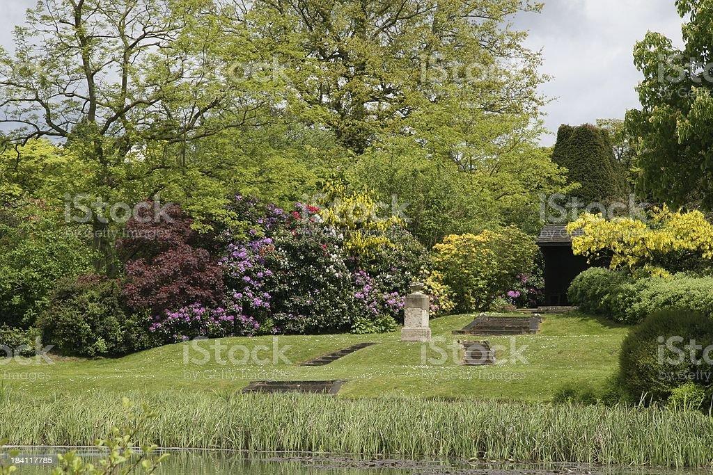 Formal Garden royalty-free stock photo