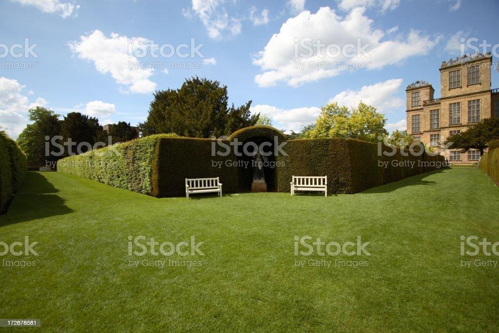 Formal Gardens stock photo