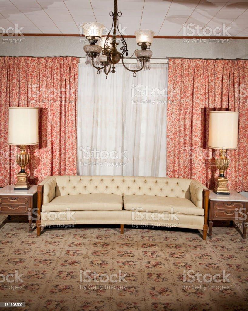 Formal living room. stock photo