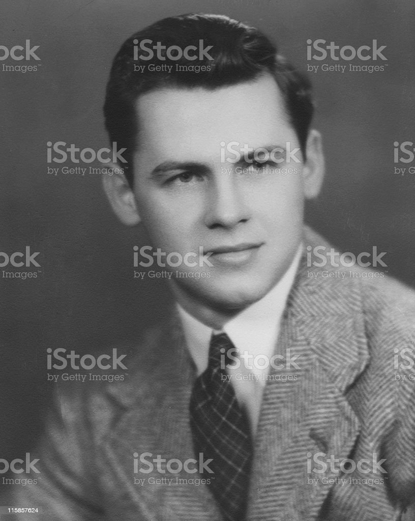 Formal Portrait stock photo