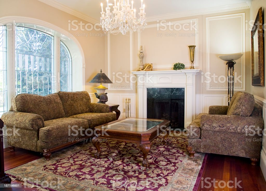 Formal Sitting Room stock photo
