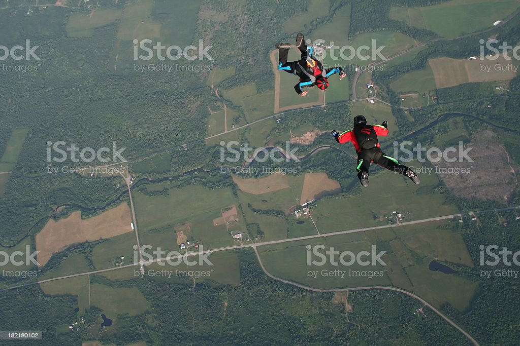 Formation Skydive royalty-free stock photo