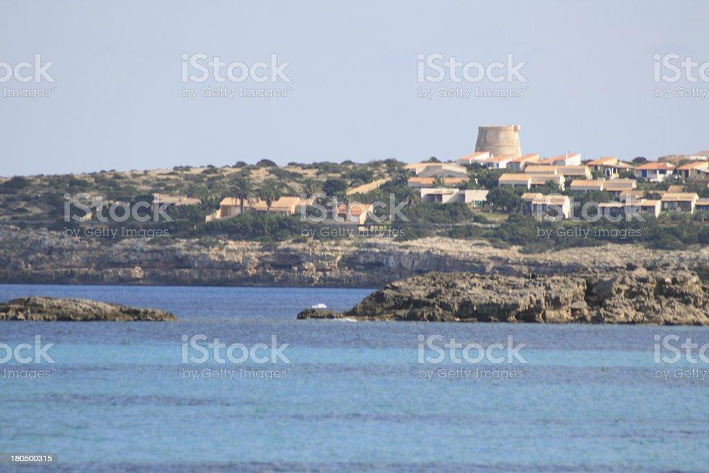 Formentera Spain royalty-free stock photo