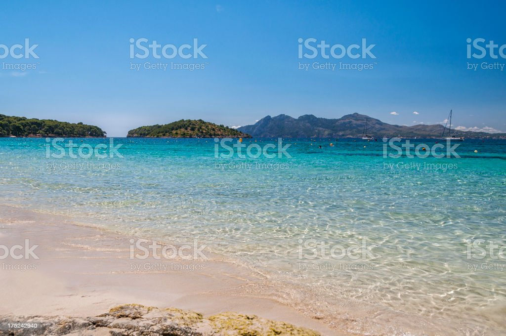 Formentor beach, Mallorca royalty-free stock photo