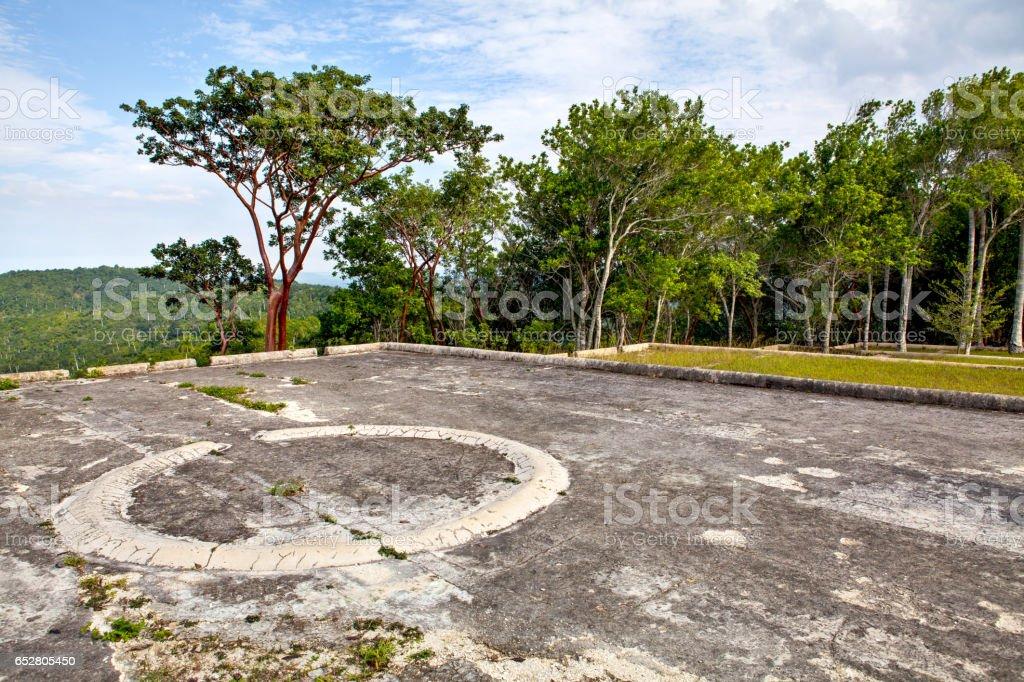 Former coffee farm, Buena Vista, Las Terrazas, Cuba stock photo