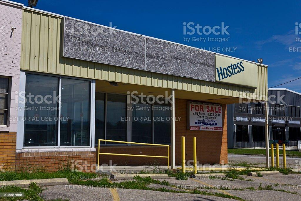 Former Hostess Thrift Shop after 2012 Bankruptcy I stock photo