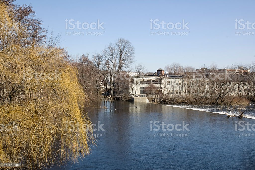 Former Industrial Site, Now a Community royalty-free stock photo
