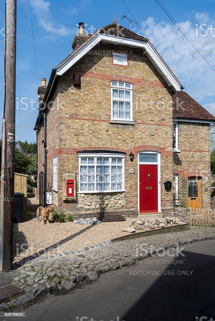 Former Loose Village Post Office stock photo