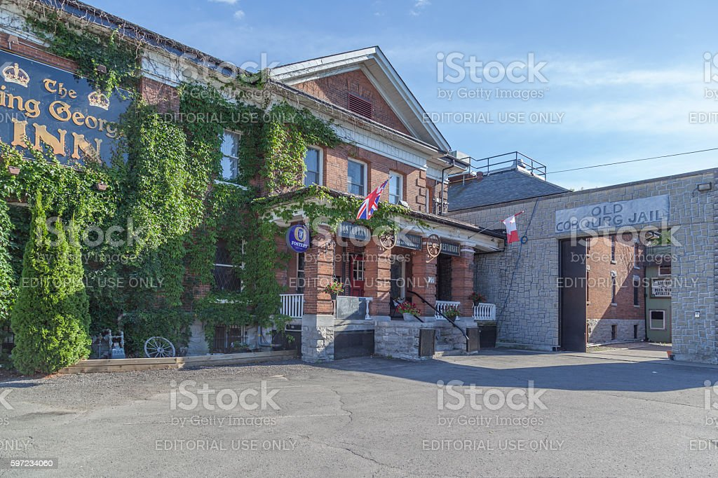 Former Provincial Cobourg Jailhouse in Cobourg, Ontario, stock photo