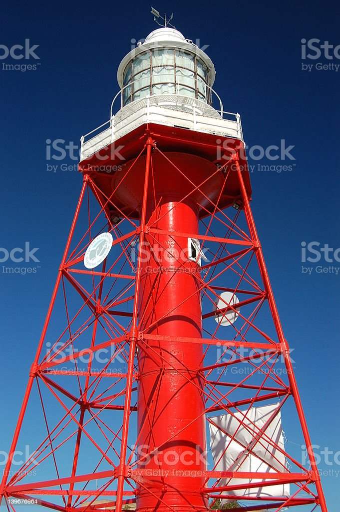 Former South Neptune Island Lighthouse royalty-free stock photo