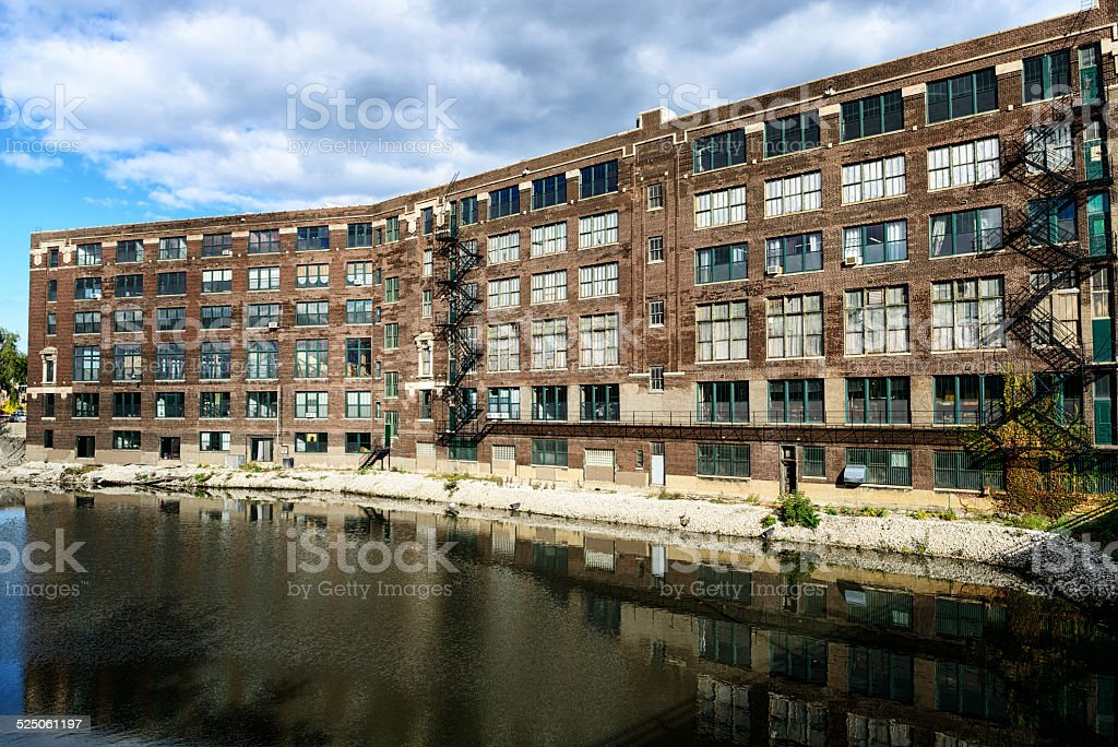 Former Spiegel Catalogue Warehouse, Chicago stock photo