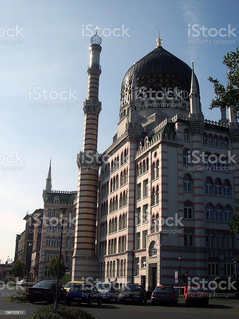 Former Yenidze Cigarette Factory stock photo