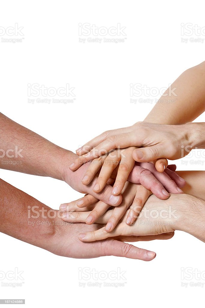 Forming a team stock photo