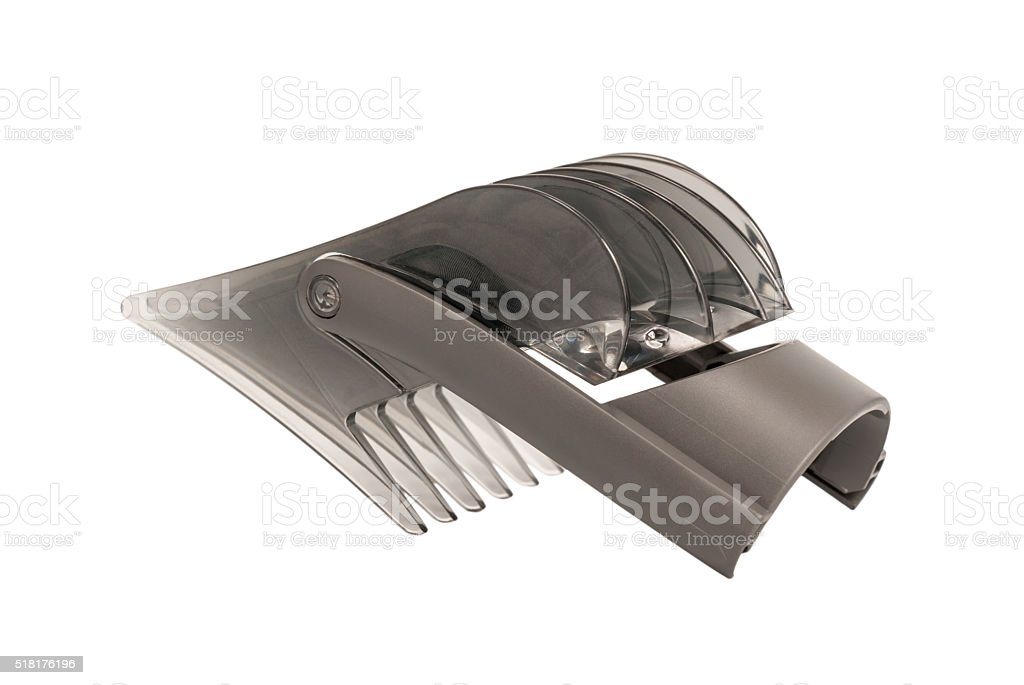 Forming head to the hairclipper stock photo