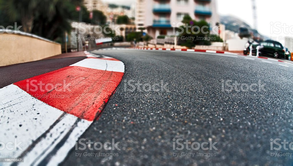 Formula 1 One at Monaco stock photo