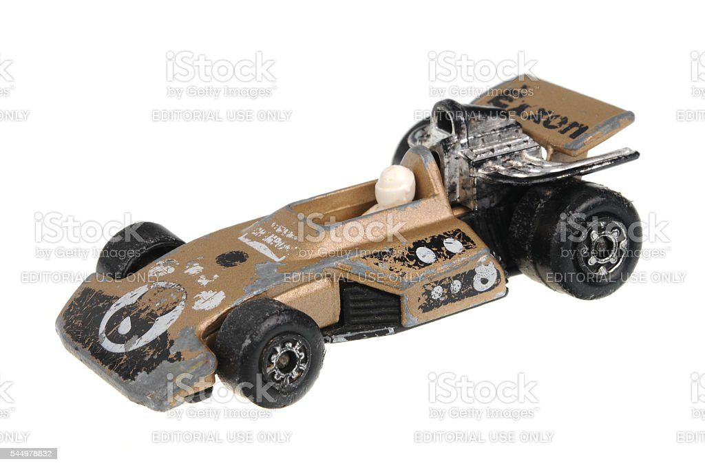 1975 Formula 5000 Matchbox Diecast Toy Car stock photo