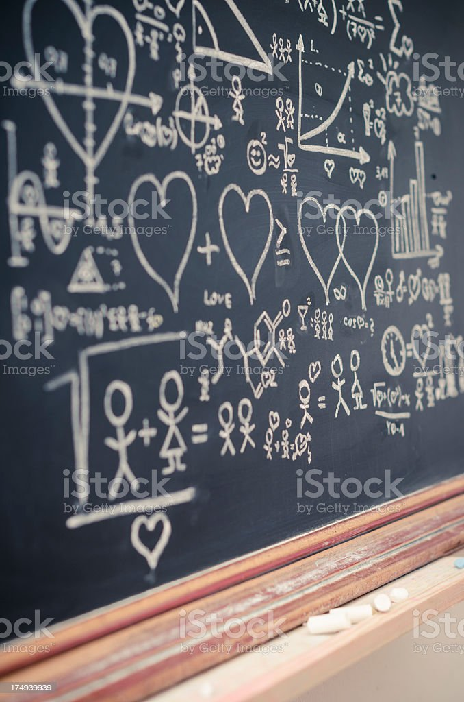 formula of love royalty-free stock photo