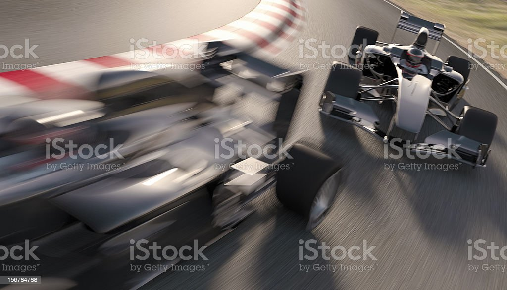 Formula One Racing stock photo