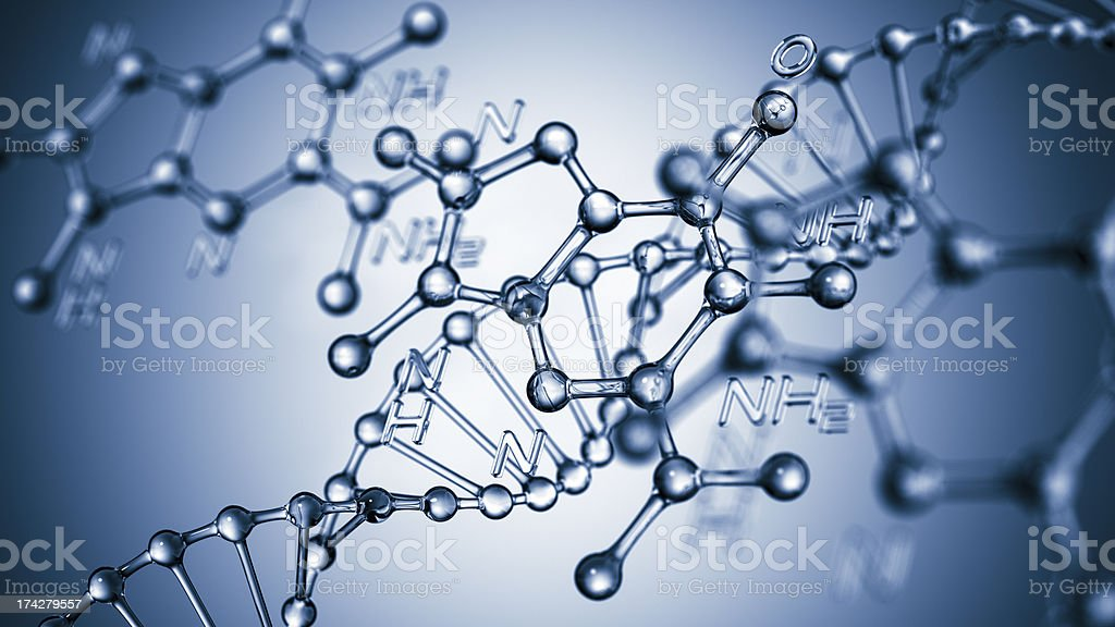 DNA Formula stock photo