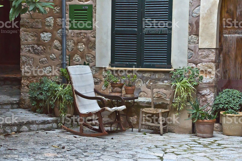 Fornalutx - Majorca royalty-free stock photo