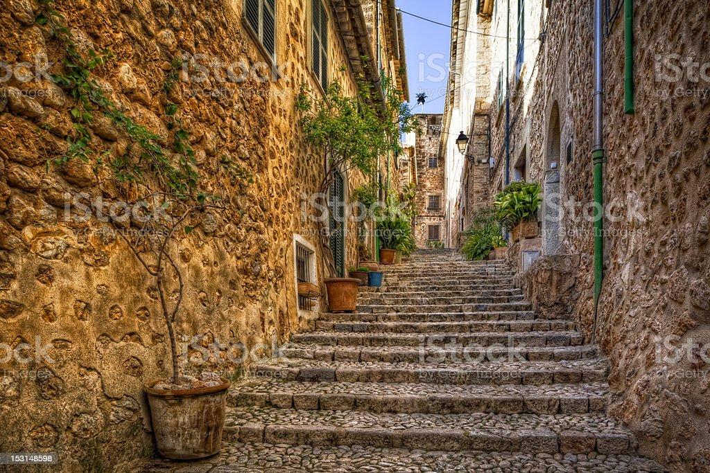Fornalutx - Mallorca / Spain royalty-free stock photo
