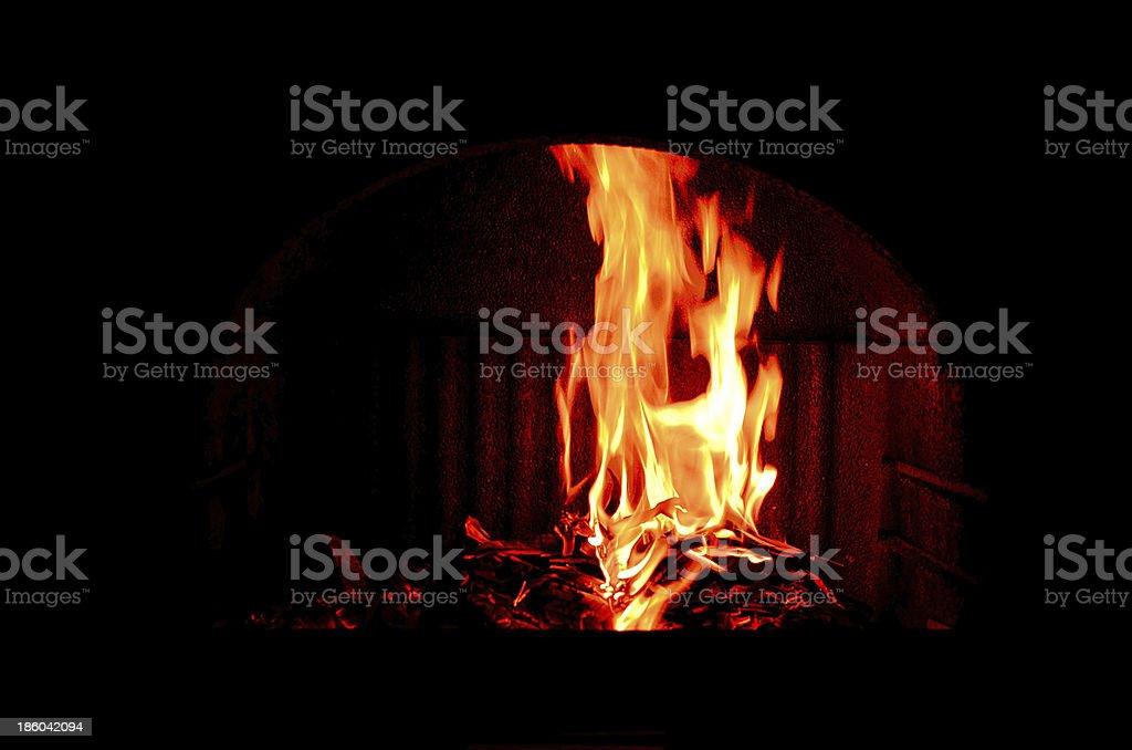 Forno a legna stock photo