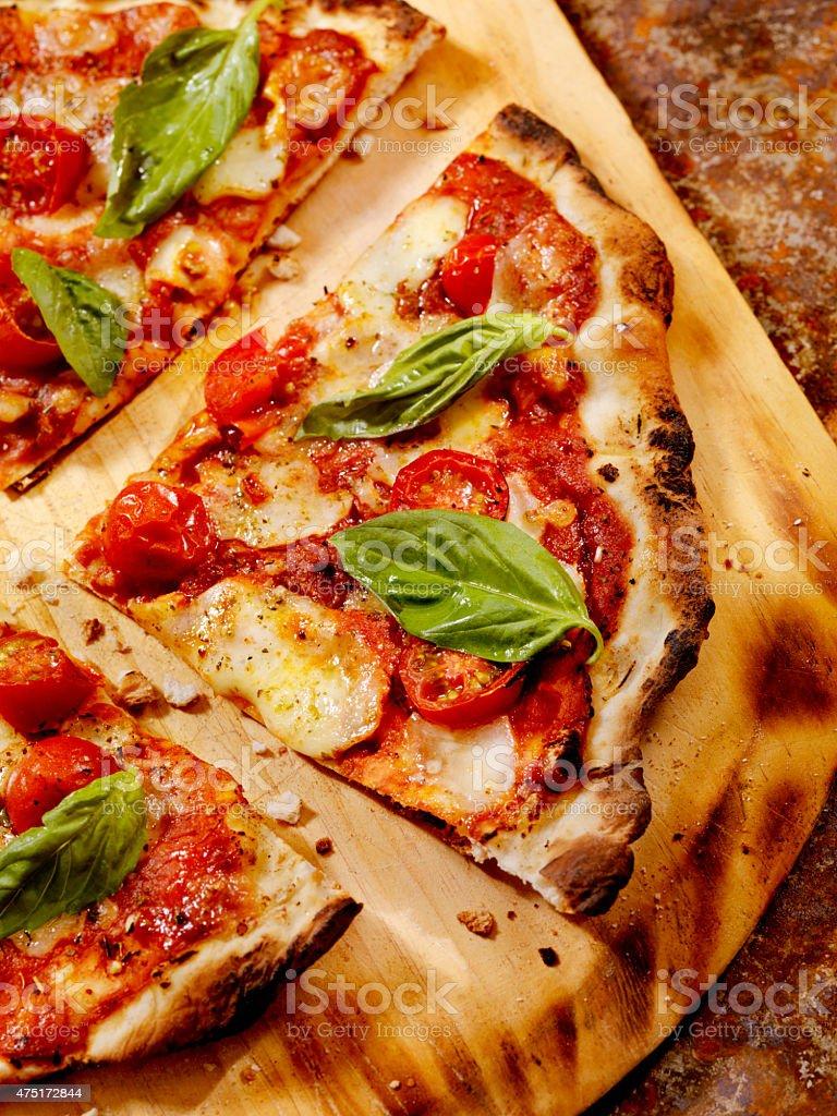 Forno Oven Pizza, Margherita Pizza stock photo