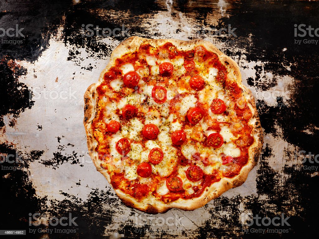Forno Oven Pizza, Marinara Pizza stock photo