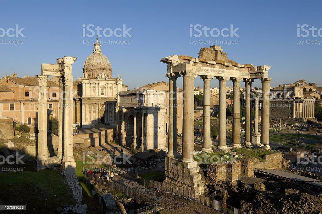 foro romano royalty-free stock photo