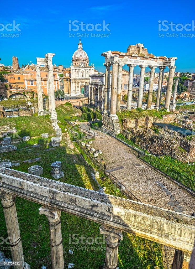 Foro Romano, Rom, Italien. – Foto