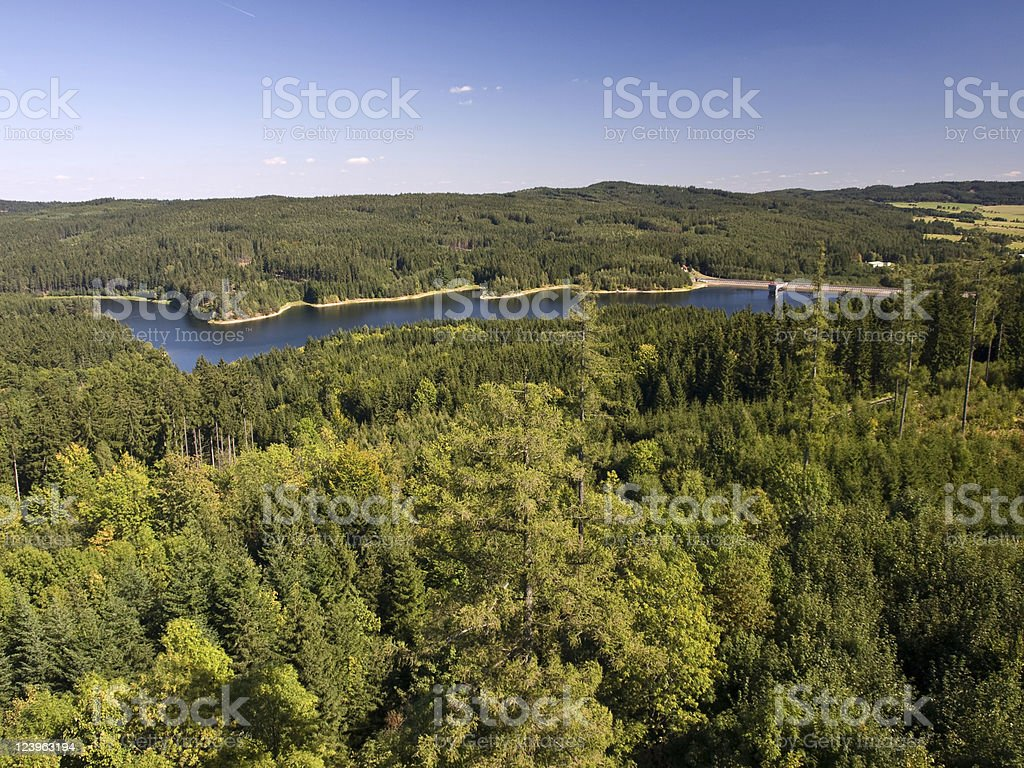 Forrest Dam royalty-free stock photo