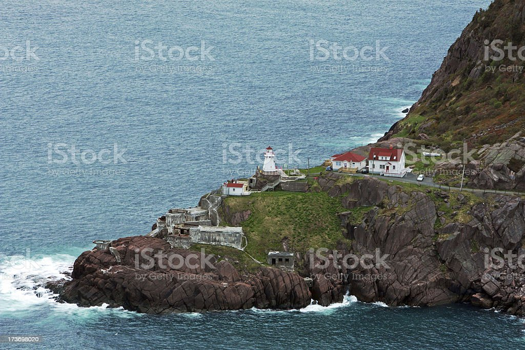 Fort Amherst stock photo