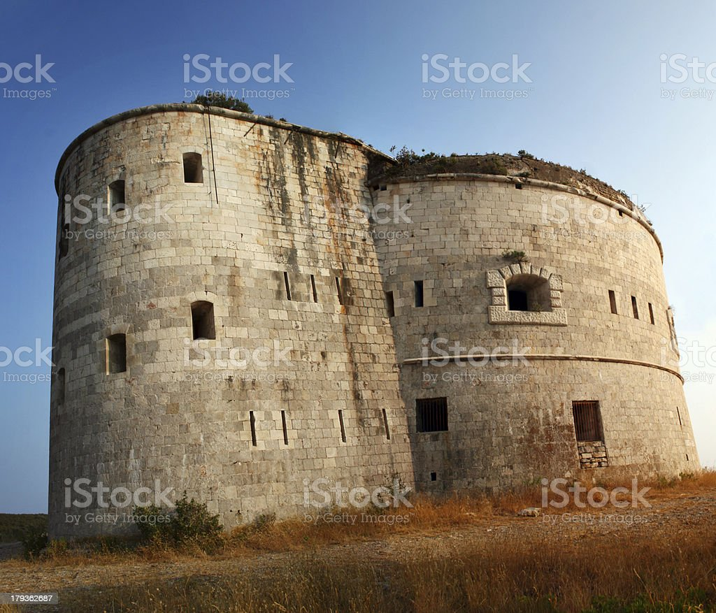 Fort Arza royalty-free stock photo