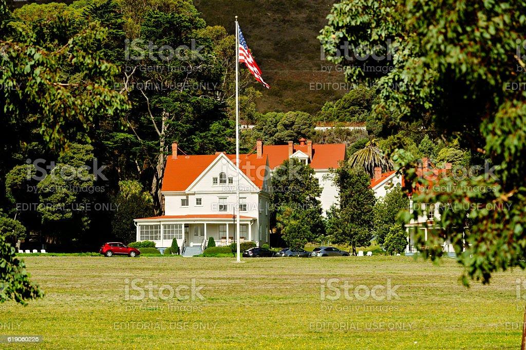 Fort Baker, San Francisco, USA stock photo