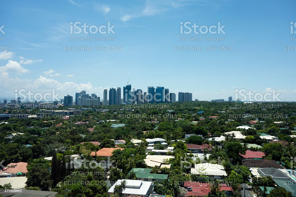 Fort Bonifacio, Metro Manila, Philippines royalty-free stock photo