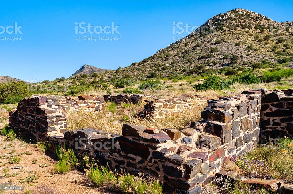 Fort Bowie National Historic Site stock photo