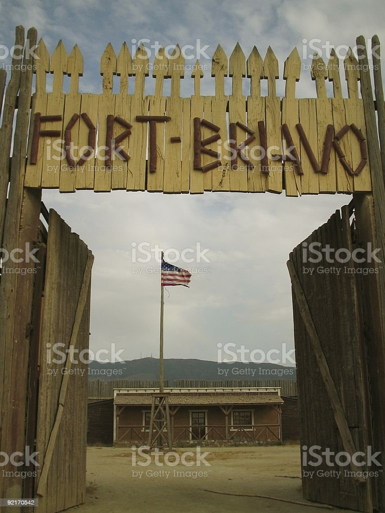 Fort Bravo..:: Far west 'Series'::.. royalty-free stock photo