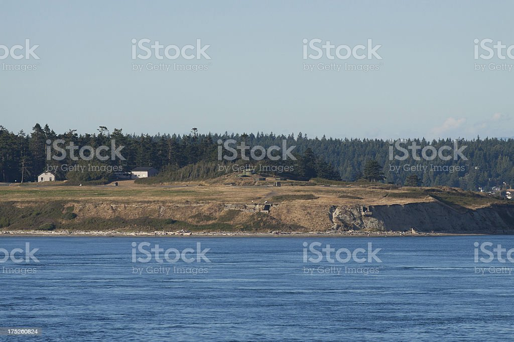 Fort Casey royalty-free stock photo