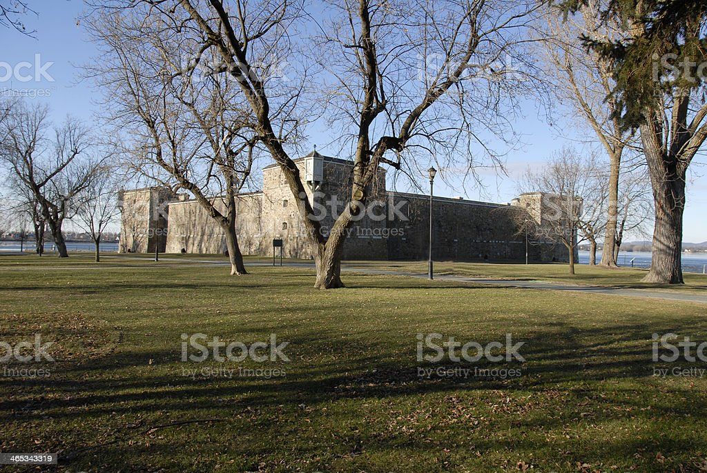 Fort Chambly royalty-free stock photo