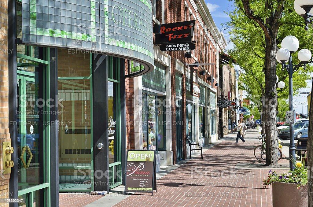 Fort Collins, Colorado stock photo