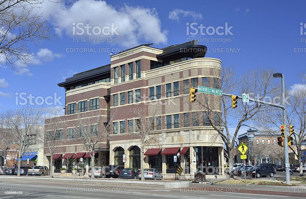 Fort Collins, Colorado royalty-free stock photo